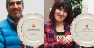 Brindan reconocimiento a Manolo del Castillo y Sonaly Tuesta por sus 20 años en TV Perú
