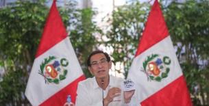 Estos son los anuncios del presidente Martín Vizcarra, efectuados hoy