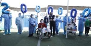 Minsa: Perú llegó hoy a los dos millones de vacunas aplicadas contra la COVID-19
