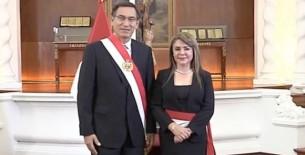 General PNP (r) María Elizabeth Hinostroza Pereyra jura como ministra de Salud