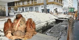 Hallan tres momias preincas durante obras en el Cercado de Arequipa