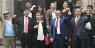 Frente Amplio anuncia que no asistirá al Pleno convocado para el día de hoy