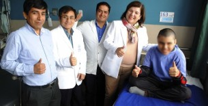 Por primera vez el hospital Cayetano Heredia realiza cirugía en niño con epilepsia resistente