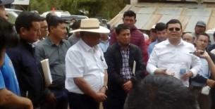 Solución rápida del paro preventivo de transportistas de Rodríguez de Mendoza