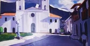 Pablito Vilca Mendoza el pintor que pinta las expresiones profundas de su alma y su tierra