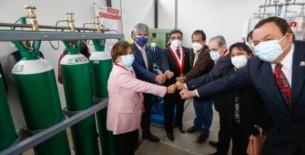 Viceministro Bernardo Ostos: A la fecha tenemos 346 plantas de oxígeno medicinal