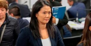 Poder Judicial evaluará el 26 de diciembre prisión preventiva contra Keiko Fujimori