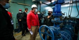 Presidente del Consejo de Ministros supervisó restablecimiento de agua potable en San Juan de Lurigancho
