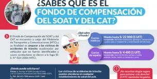 MTC impulsa Fondo de Compensación del SOAT y del CAT para amparar a víctimas de tránsito causados por conductores que fugaron
