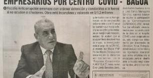 Procesan a gobernador, funcionarios y empresarios por Centro Covid - Bagua