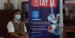 Gobierno local coordina tercera Operación Tayta en Bagua Grande
