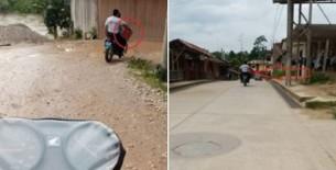 Policías de la Comisaria Nieva son captados llevando cerveza en una moto con uniforme en horas de trabajo