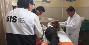 SIS financia proeza médica que salvó la vida de joven con tronco atravesado en el tórax