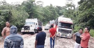 IV Eje Vial en mal estado, pueblos exigen el mejoramiento inmediato